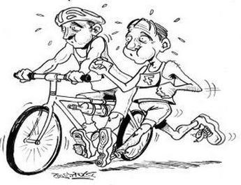 Entrainement samedi 23 mars ecole de triathlon de - Image coureur humoristique ...