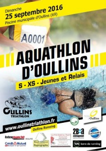Aquathlon d'oullins 2016