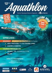 Aquathlon de Villeurbanne 2017