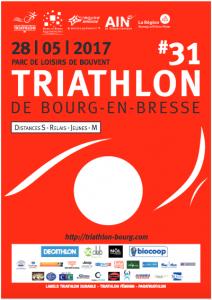 Triathlon de Bourg-en-Bresse 2017